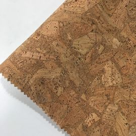 Composition Cork Leather Fabric Veneer Rolls For Upholstery Handbags